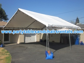 20x20 white tent for rent