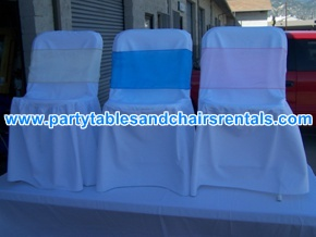 Colorful folding chairs covers for sale
